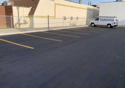 commercial paving and asphalt project in windsor ontario