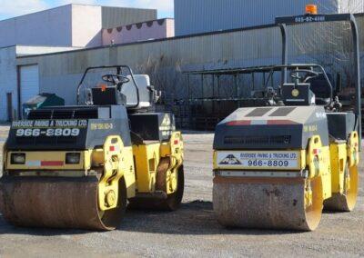 paving equipment in windsor