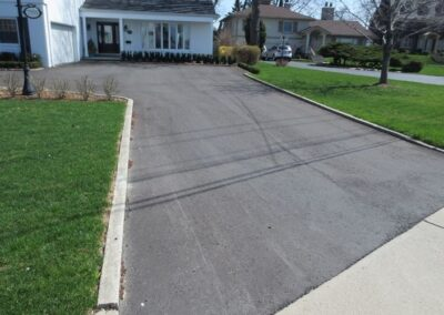 residential paving and asphalt project in windsor ontario