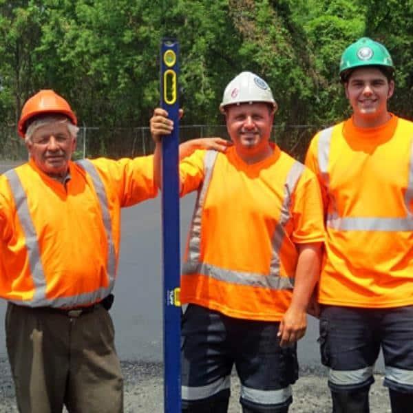 riverside paving ontario team photo